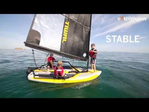 видео лодки под парусом видео