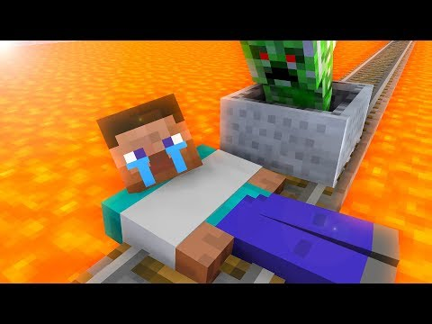 Monster School : Steve Trap - Minecraft Animation