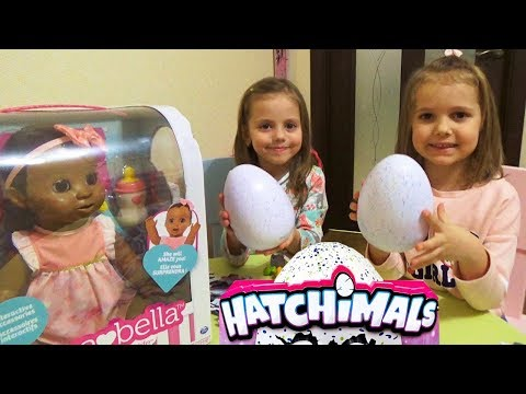 Мисс Кейти и Мистер Макс с подарками КУКЛА Luvabella Baby doll для Насти ЯЙЦО ЧЕЛЛЕНДЖ Hatchimals