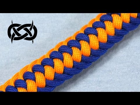 How to make a (TIAT's) Genoese Zipper Sinnet Paracord Bracelet