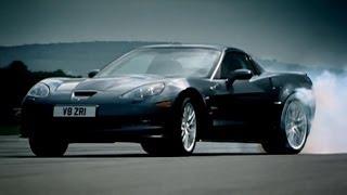 Corvette ZR1 vs Audi R8 | Top Gear | BBC