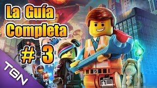 LEGO Movie The Videogame - La Guía Completa en Español - Parte 3 - HD 720p