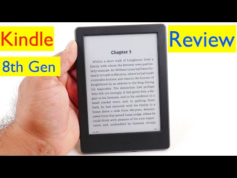 All-New Kindle E-Reader Review - 8th Generation - 2016 Model