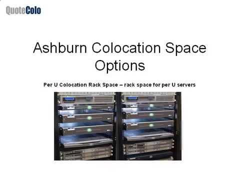 Ashburn Colocation Services