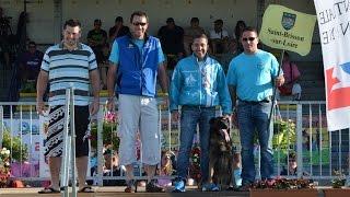 2015 - Championnat de France Ring à Domérat Cheyenne - Cyriaque Boughareb