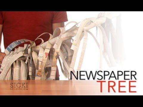 Newspaper Tree - Sick Science! #071
