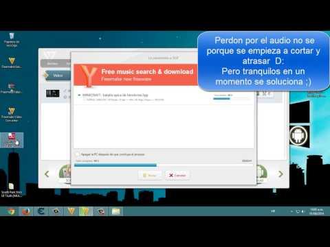 CONVERSOR DE FORMATOS DE VIDEO, MUSICA ETC!! | ESPAÑOL 2014