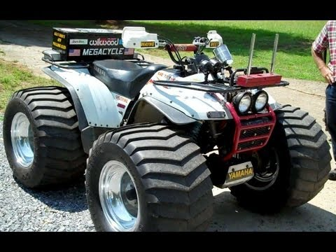 1995 Yamaha Wolverine Pulling ATV