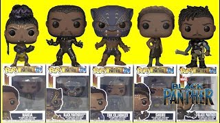 Marvel Studios' BLACK PANTHER Movie Funko Pop Unboxing!