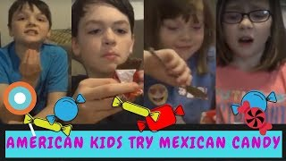 American Kids try Mexican Candy and snacks!  SugarCrashTV