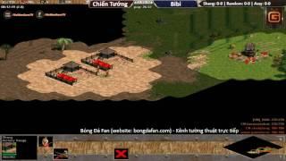 Chiến Tướng vs BiBi Ngày 09/03/2017