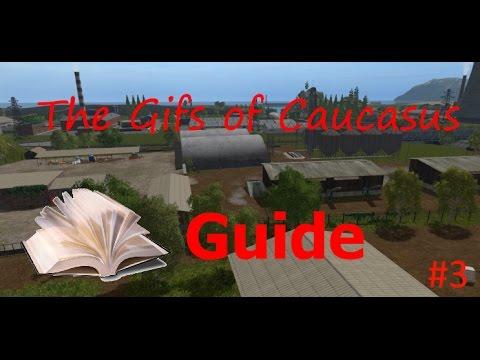 Fs17 / The Gifs Of Caucasus / Guide De La Carte /  L'achat Des Factory Et La License Du Bois #4