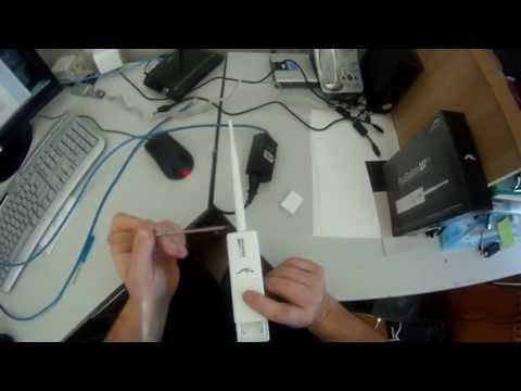 Ubiquity Picostation M2-HP - Access Point - How to set up a Wireless network