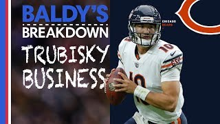 Evaluating Mitchell Trubisky's Tale of Improvement  | Baldy Breakdowns