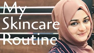 My everyday skincare routine - day and night • for healthy spotless glowing skin • majida shafeer