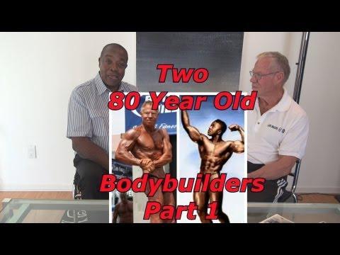 Two 80 Year Old Bodybuilders PART 1 - Leroy Colbert & Jim Arrington