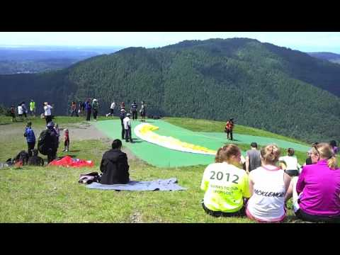 Poo Poo Point Paragliding Launch at Issaquah WA