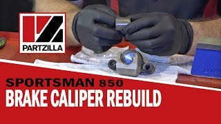 Polaris Brake Caliper Rebuild – Sportsman 850 ATV | Partzilla.com