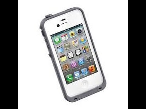 LifeProof Case for iPhone 4 and iPhone 4S Unboxing