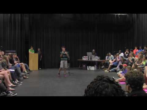"Royce Mann, Age 14, ""White Boy Privilege"", Slam Poem"