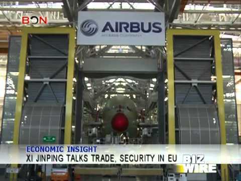 Xi Jinping talks trade, security in EU - Biz Wire - March 24,2014 - BONTV China