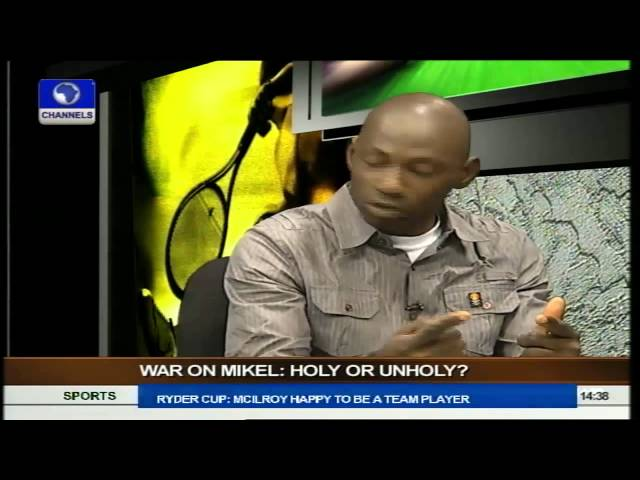 Sports Palava: Is The War On Mikel Holy Or Otherwise pt.1