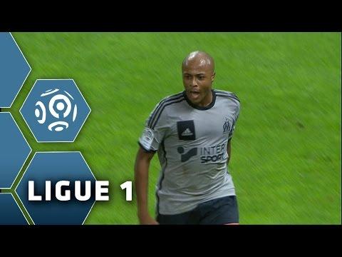 Goal André AYEW (59') / Stade de Reims - Olympique de Marseille (0-5) - (SdR - OM) / 2014-15