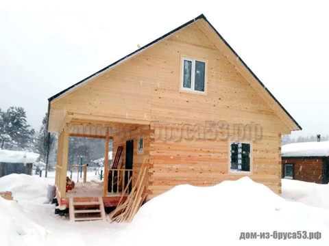 Оригинальный дом из бруса от компании Мой дом из Пестово
