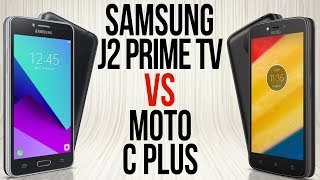 J2 Prime TV VS Moto C Plus (Comparativo em 2 minutos)