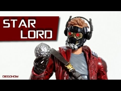 Marvel Legends STAR LORD Guardians of the Galaxy Review / DiegoHDM