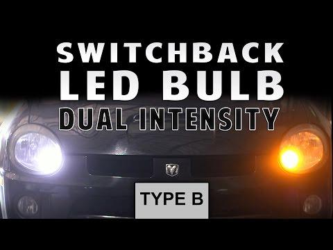 Switchback LED Bulb Dual Intensity TYPE B