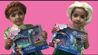 Frozen Elsa And Anna In Real Life Movie + Disney Princess Magiclip + Play Doh