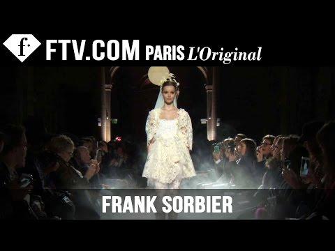 Frank Sorbier Show Spring summer 2015 | Paris Couture Fashion Week | Fashiontv video