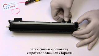 Заправка картриджа Brother TN-1075, HL-1112, DCP-1512, MFC-1815 Refill cartridge TN-1000, 1030, 1040