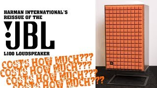 New 2018 JBL L100 reissue loudspeakers announced at CES
