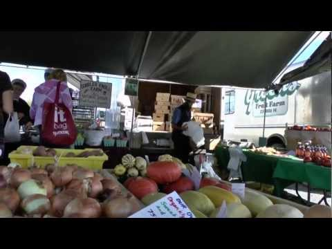 AMISH / MENNONITES FARMERS MARKET IN PENNSYLVANIA LANCASTER COUNTY, THE OLDEST.