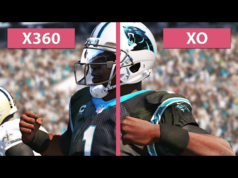 Madden NFL 15 - Xbox One vs  Xbox 360 Graphics ComparisonXbox One Madden 25 Graphics