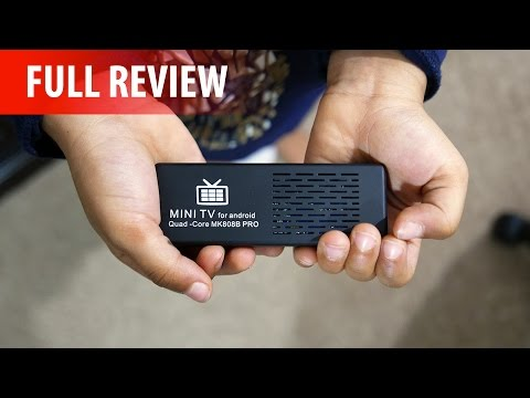 MK808B Pro - $29.99 4K Android 5.1 TV Stick - Full Review!