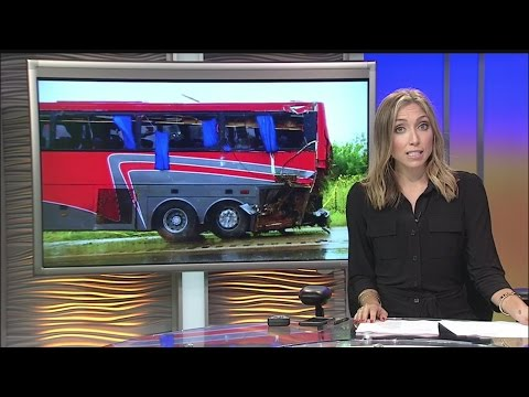 Ninth person dies following charter bus crash in South Texas