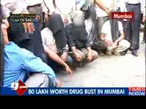 80 lakh worth drugs seized in Mumbai - Video   The Times of...