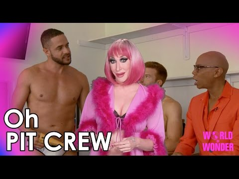 RuPaul's Drag Race Oh Pit Crew with Detox - Miles Receives Fan Mail!