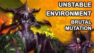 Starcraft 2 Co-op Brutal Mutation: Unstable environment [ Zagara ]