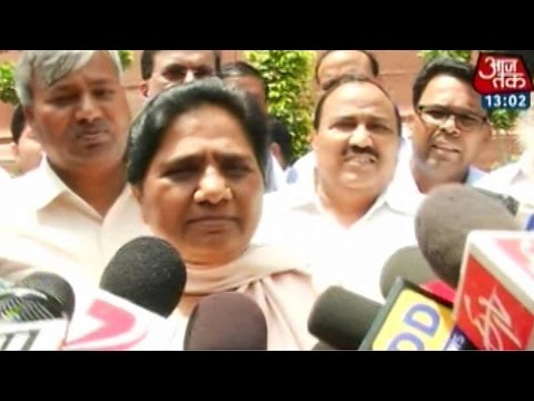 Mayawati rules out chances of joining hands with Mulayam