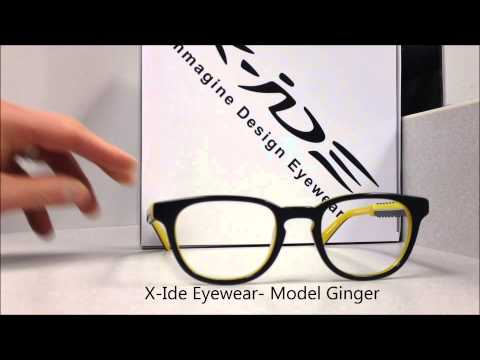 X-Ide Eyewear - Models Alloro and Ginger