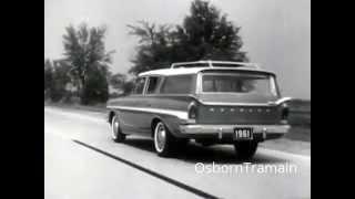 1961 American Motors Rambler Classic Commercial with Thurl Ravencroft dubbing singing