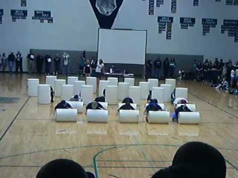 Lake City High School Stomp- Barrels- 2012-13