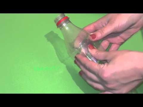 Как выпрямить пластиковую бутылку своими руками 519