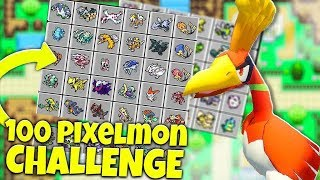 100 vs 100  POKEMON CHALLENGE OP ZYGARDE - MINECRAFT PIXELMON MOD BATTLE
