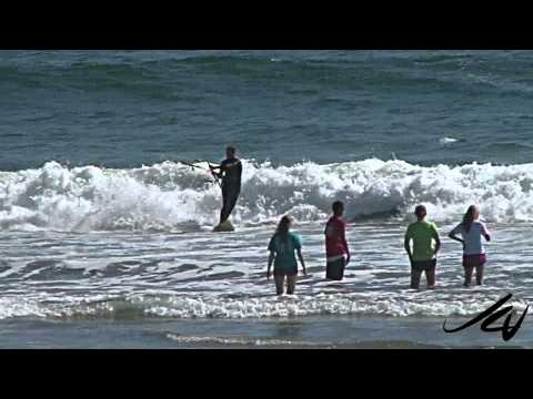 Waddell Beach - Big Basin Redwoods State Park California - YouTube Travel