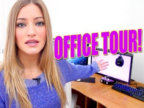 iJustine OFFICE TOUR!